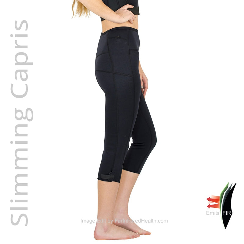 Infrared Slimming Capris. Great Shapewear that help you drop the pounds! Bio-Ceramic Capris