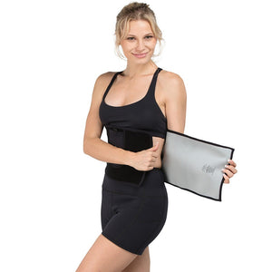 Adjustable Bio-Ceramic Waist Wrap - Black