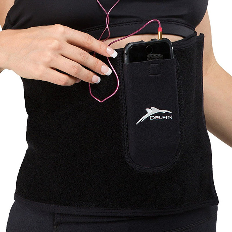 Phone Pocket on the  Far Infrared Tummy Toner