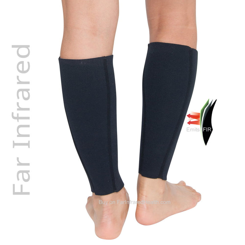Bio-Ceramic Calf Sleeves -Treatment for Varicose Veins - Back View