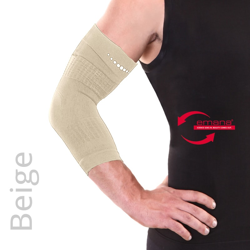 Far Infrared Circulation Elbow Bands - Beige