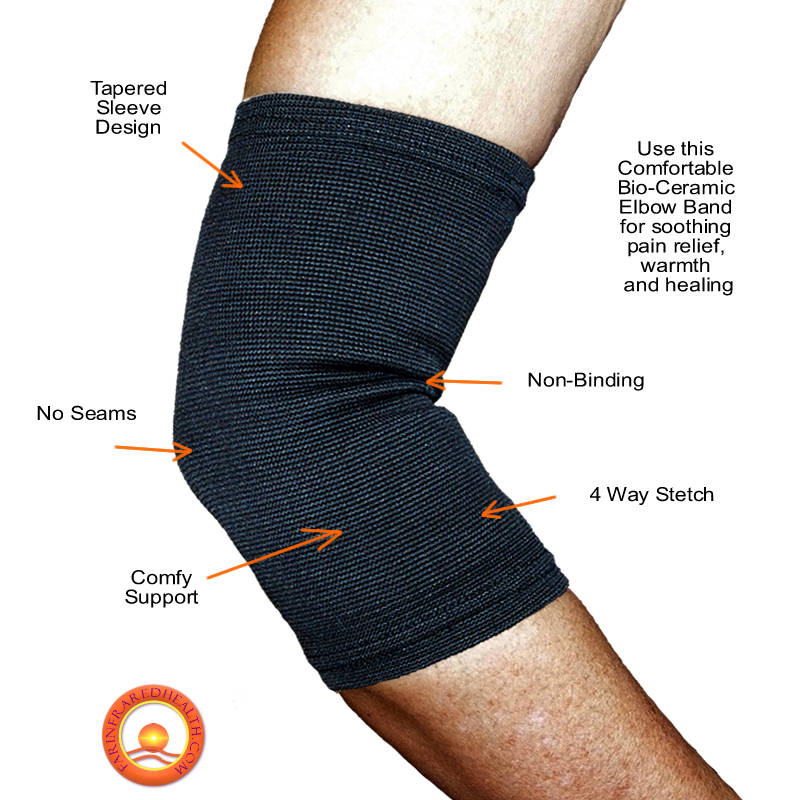 Features of the Far Infrared Pain Relieving Elbow Band