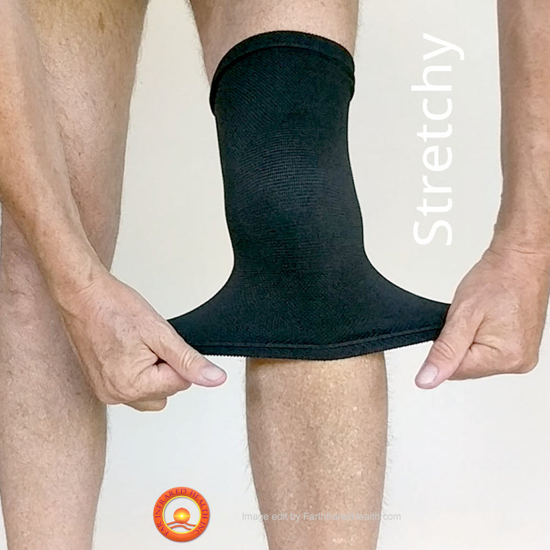 Super Stretchy Bio-Ceramic Knee Band - Best for Knee Pain