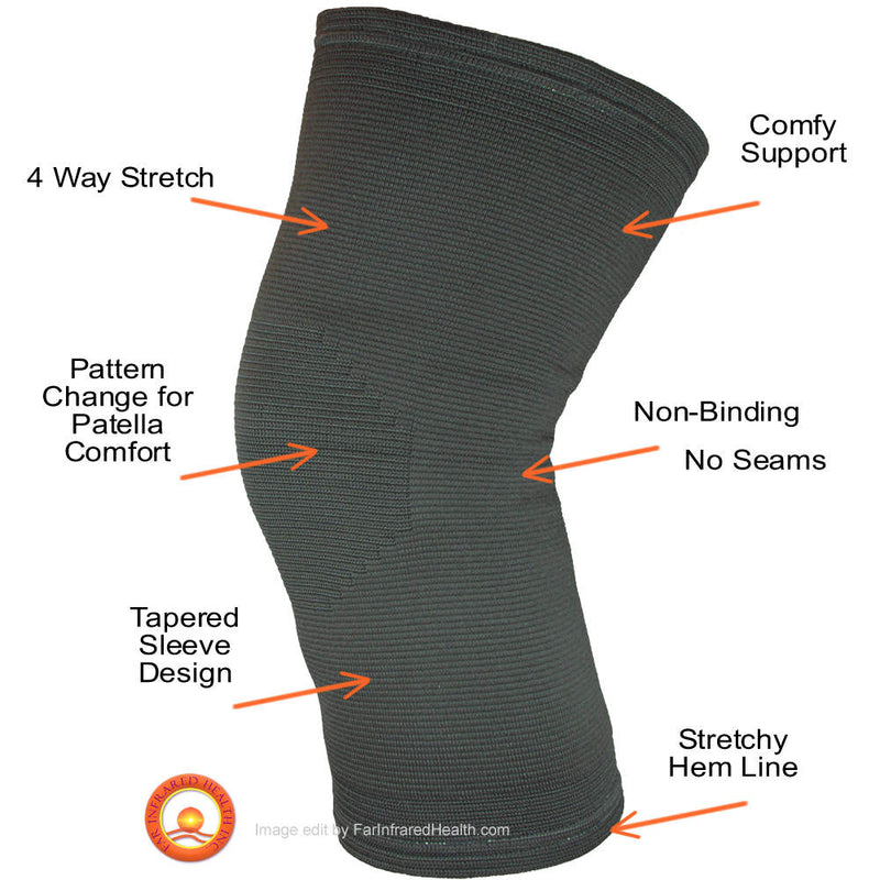 Features of our Far Infrared Knee Bands - Best FIR Knee Brace