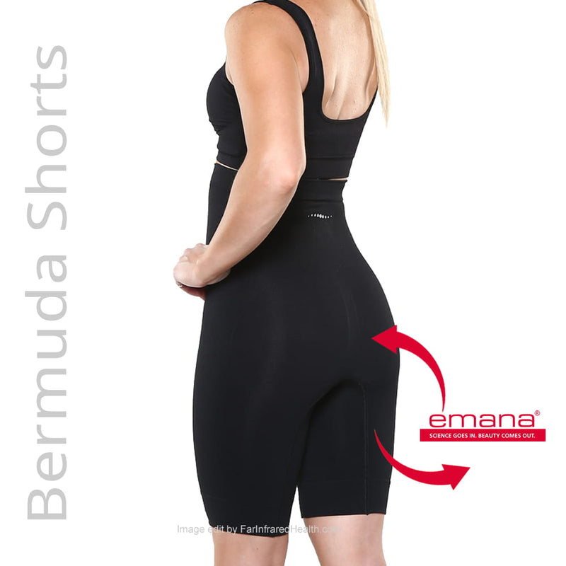Shapewear:  Infrared High-Waist Firma Bermuda Shorts made with Emana Smart Fibers
