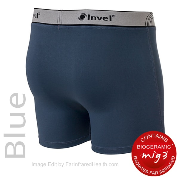 MIG3 Bioceramic Boxer Briefs - Men 3/4 view - Best Infrared Briefs