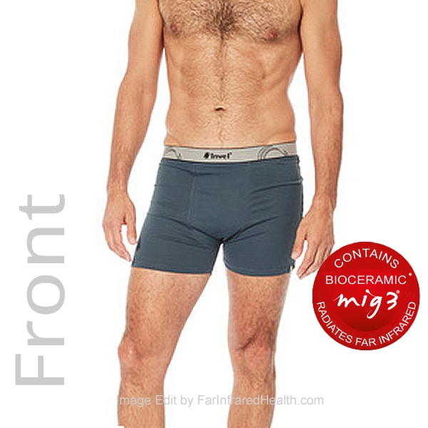 NEW Stimulating MIG3 Invel® Bioceramic Boxer Briefs - Model Front View
