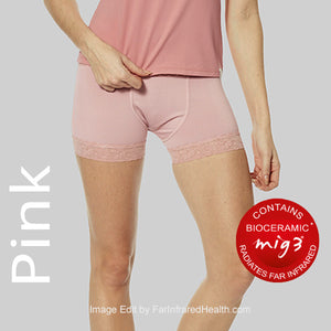 Pink Panties - Bioceramic Fabric Briefs for Ladies are all Far Infrared
