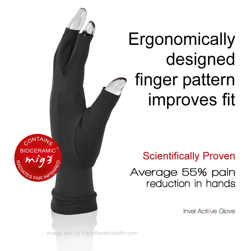 Clinically Tested MIG3 Bioceramic OTI Arthritis Gloves - Proven to Reduce HandPain