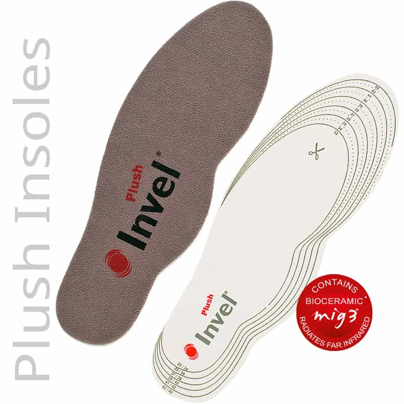 Top & Bottom of the Plush Top Actiive Insoles Trim to Fit