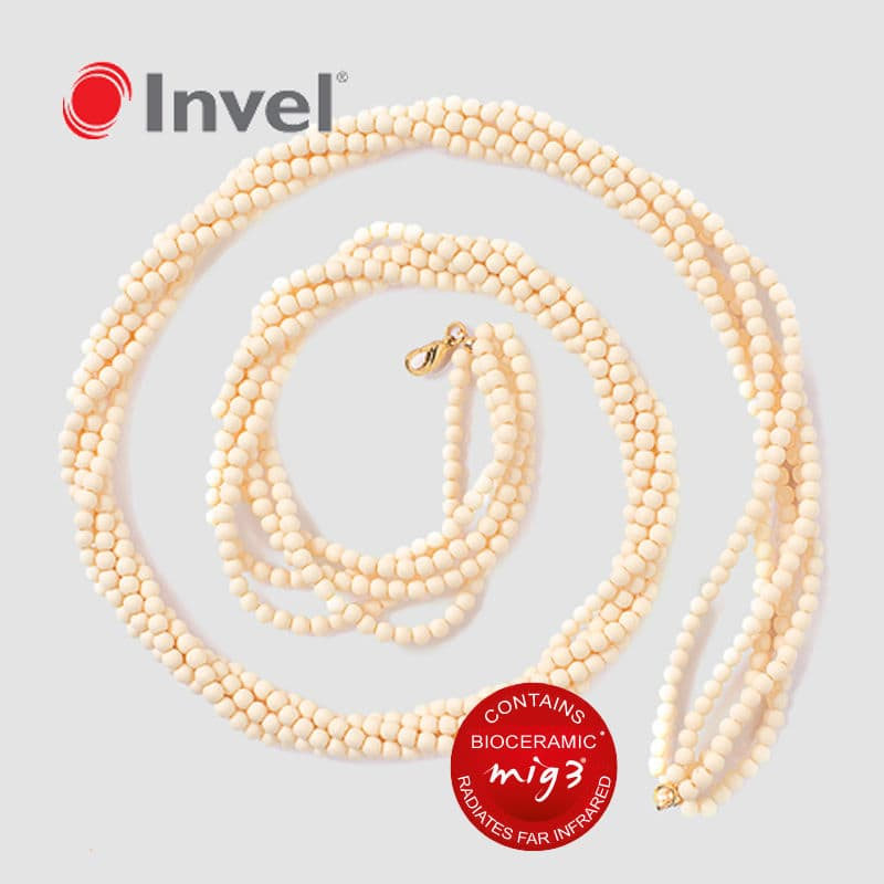 5 Strand Actiive Far Infrared Bioceramic Necklace!