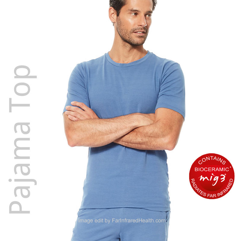 Pajama Top for Men - Infrared Sports Recovery PJ's for Me