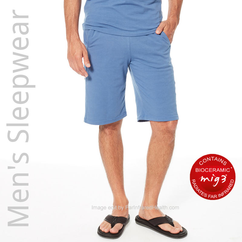 Bioceramic Pajama Shorts Recovery Sleepwear for Men - Where to Buy