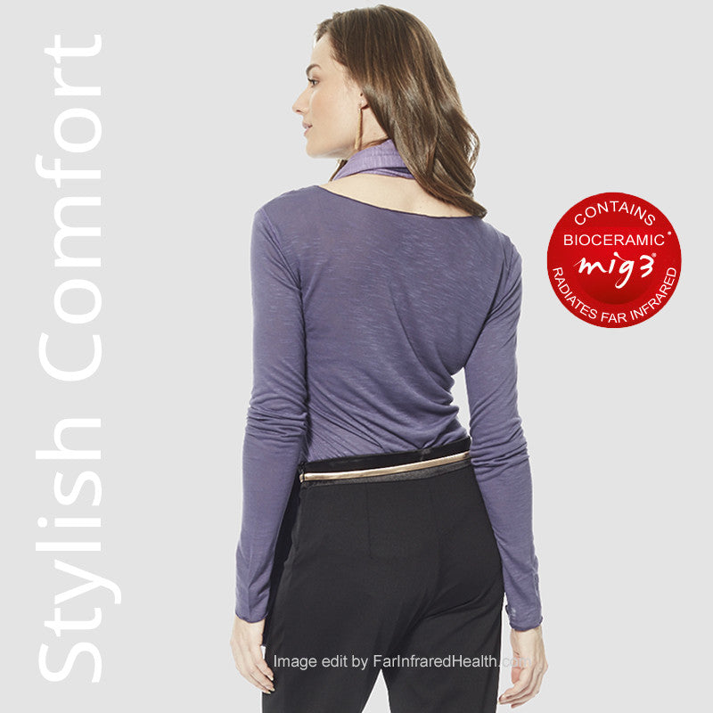 Long Sleeve Bioceramic Top Stylish Comfort for Ladies
