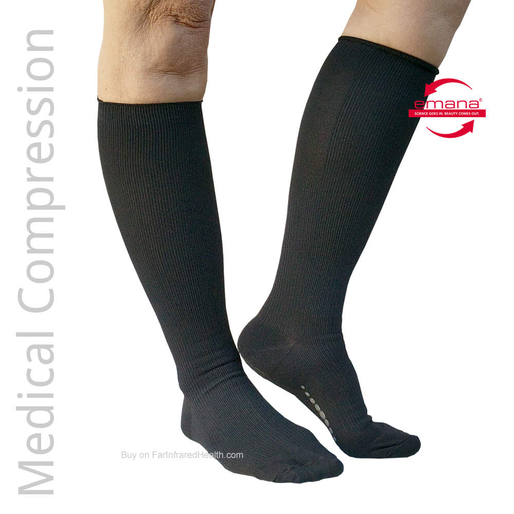 20-30 mmHg Medical Compression Infrared Socks for Men & Women