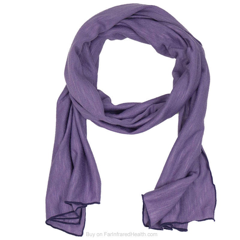 Where to Buy Purple Scarf -  Invel Infrared Scarf for Neck Pain