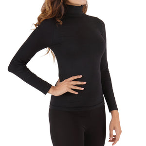 Circulation Mock Neck Shirt - Long Sleeve