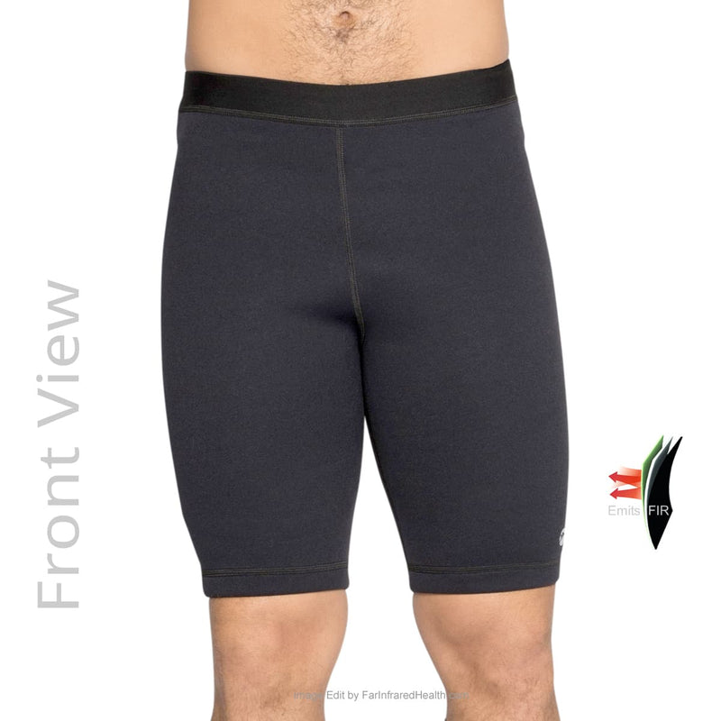 Bio-Ceramic Neoprene Sporty Shorts for Men - Front View - Delfin