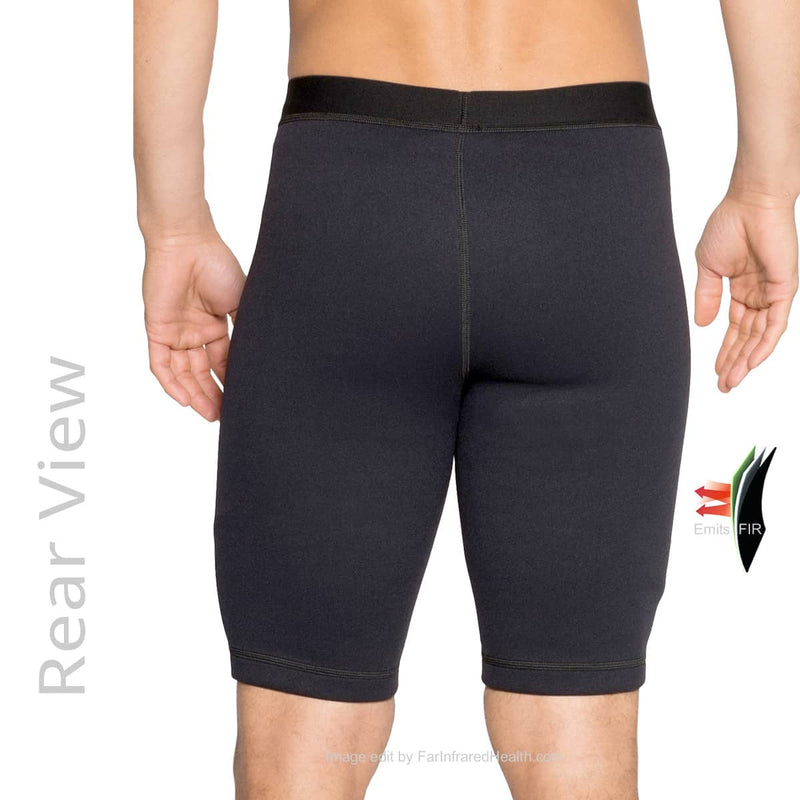 Bio-Ceramic Shorts for Men - Rear View - Good for Water Sports