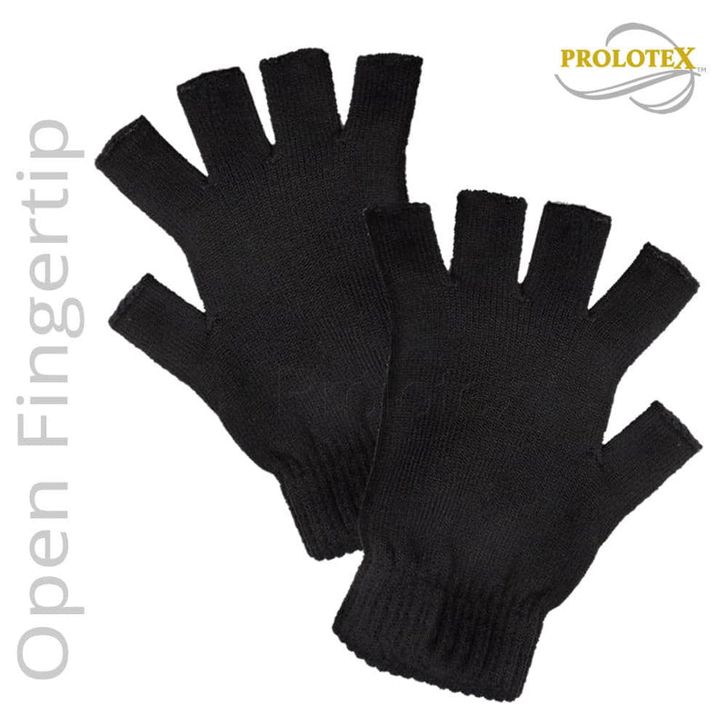 Best Carpal Tunnel Gloves Far Infrared OPEN FINGERTIP Therapy Gloves -
