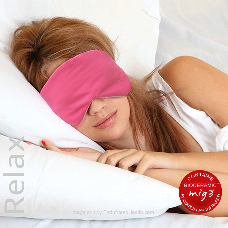 Relaxing Sleep Aid. Insomnia Beauty Eye Mask. Stress Relieving Eye Cover