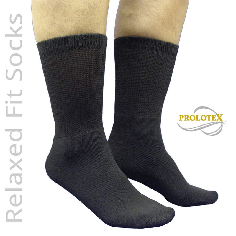 Non-Binding RELAXED FIT Bio-Ceramic Far Infrared Socks
