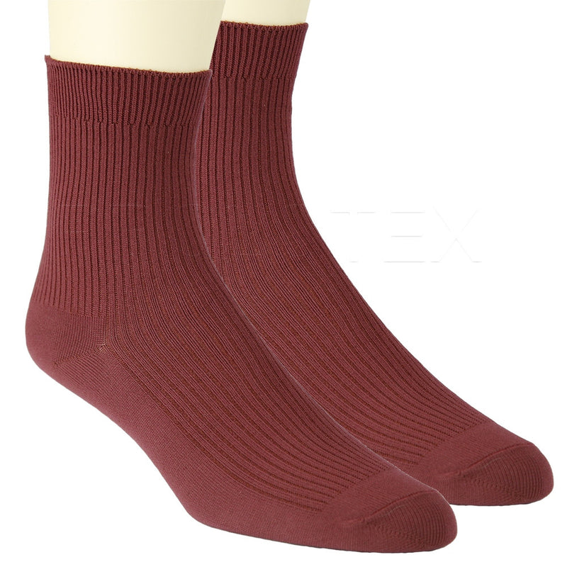 SLIM FIT Socks - Dark Scarlett
