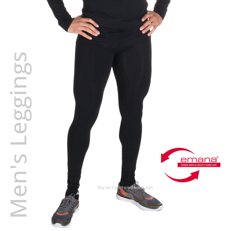 Sport Recovery Circulation Infrared Thermal Leggings for Men