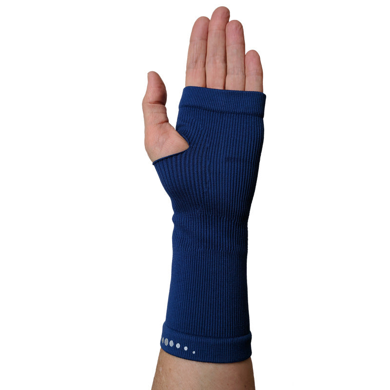 Circulation Far Infrared Wristbands - Navy Blue