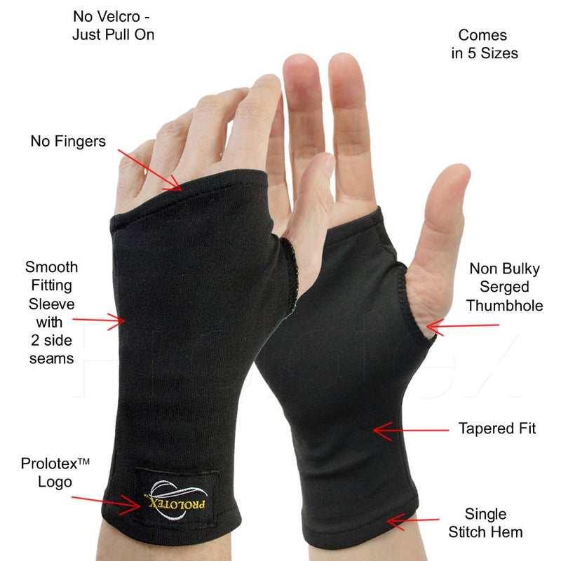 Features of the Far Infrared WRISTA GLOVES in Black