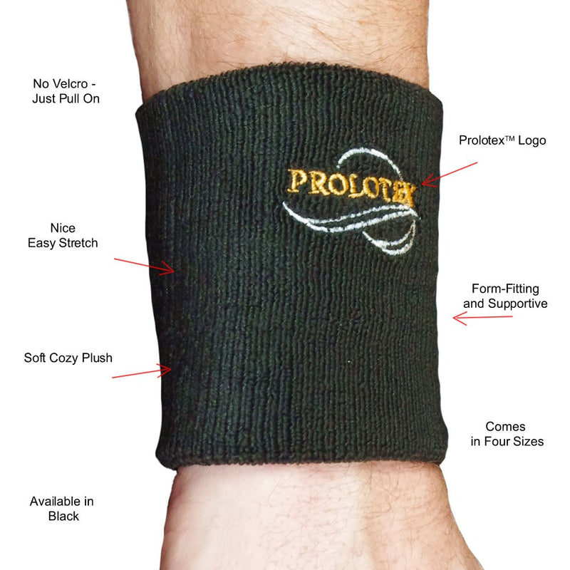 Features of Supportive COZY FIT Wrist Bands