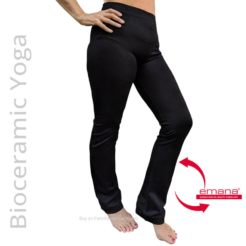 NEW: Bioceramic Circulation Promoting Yoga Pants - Athleisure wear