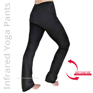 Ladies - You will look 5-10 lb lighter just by wearing these Infrared Shapewear Yoga Pants