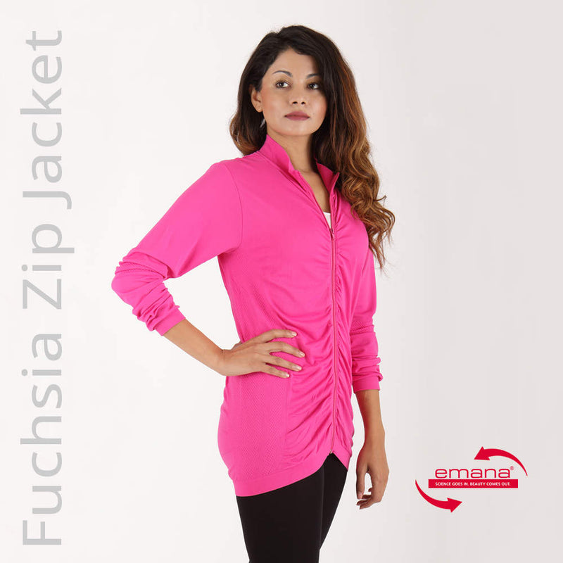 Buy Infrared Ruched Zip Jacket for Women