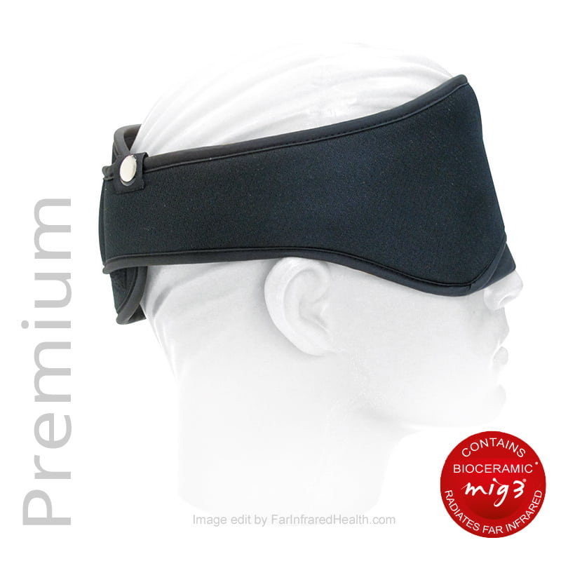 Premium Bioceramic Infused Eye Mask - side view