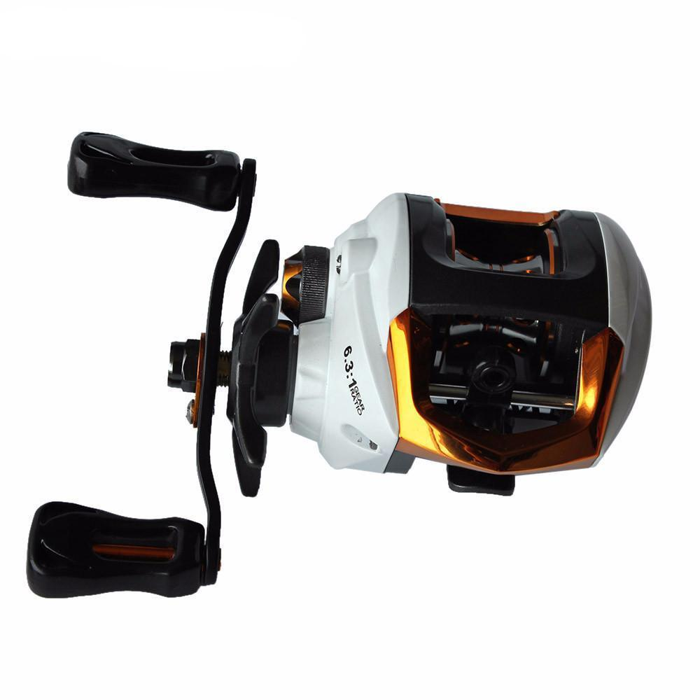 Grizzly Fishing Fishing Reel 12+1 Ball Bearings High Speed Baitcasting Reel With Magnetic Brake System