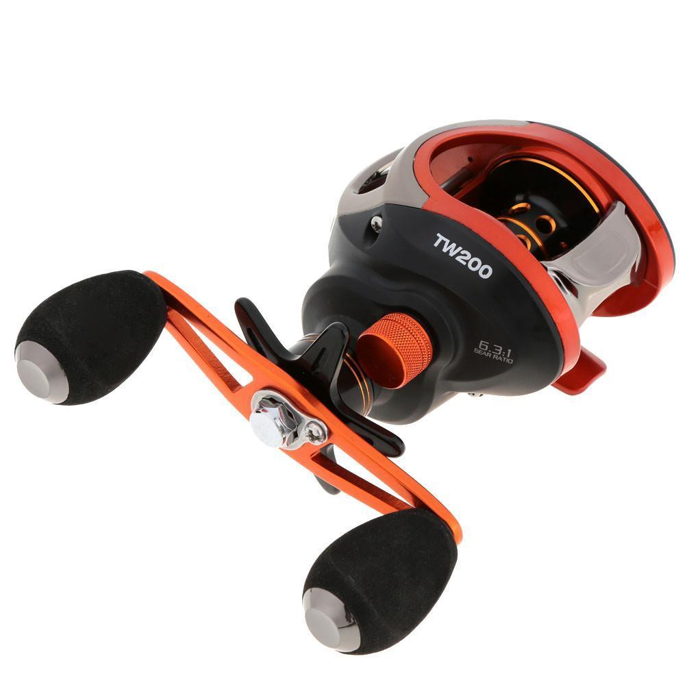Grizzly Fishing Fishing Reel 203g Ultralight Anti-Corrosive 10+1BB 6.3:1 Baitcasting Fishing Reel