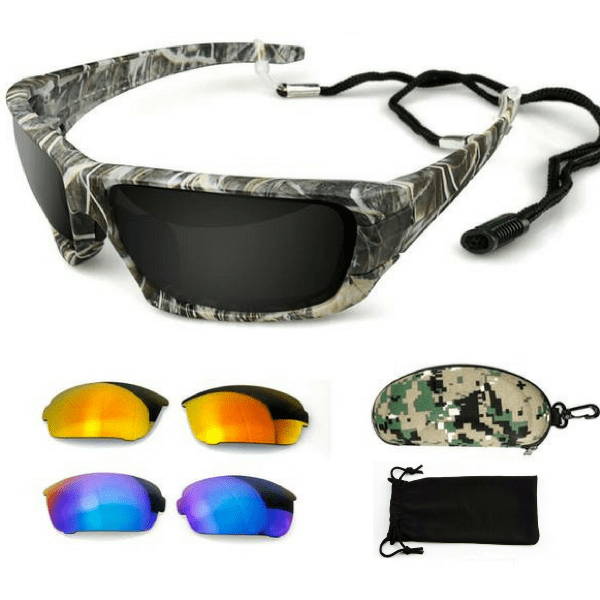 Grizzly Fishing Grizzly Fishing Sunglasses Pro Kit (3 Lenses) Grizzly Fishing Pro Sunglasses Kit (3 Lenses)