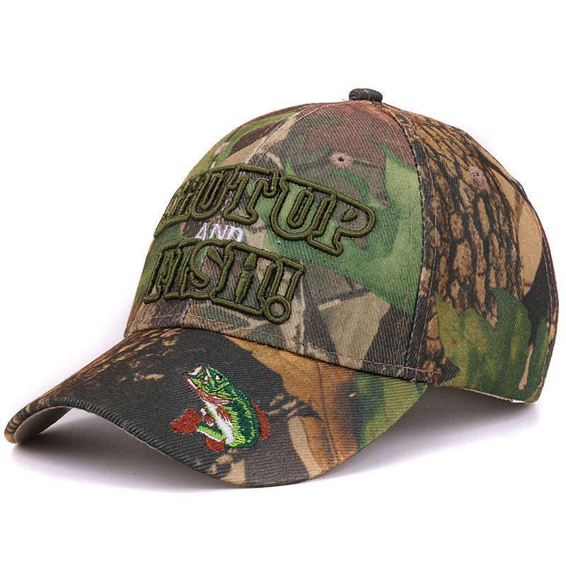 Grizzly Fishing Shut Up And Fish Cap