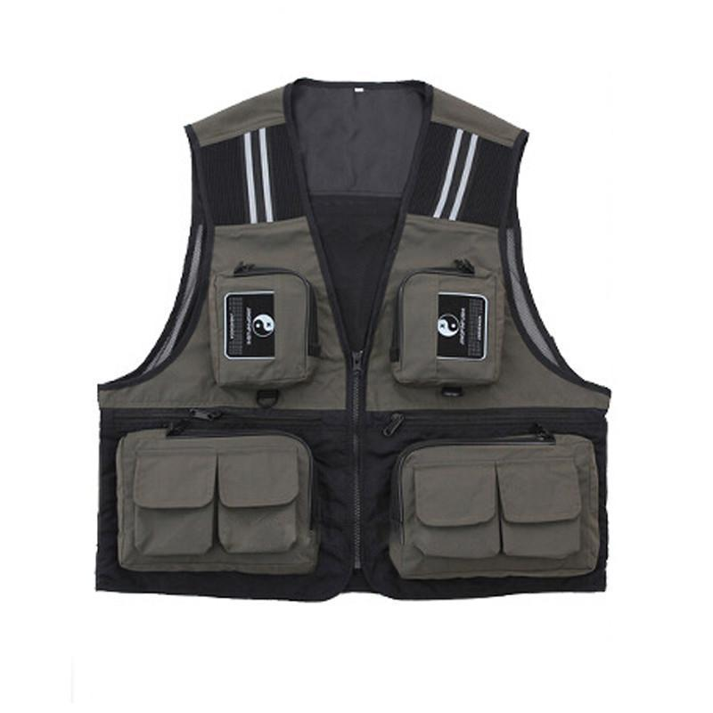 Grizzly Fishing Waterproof Sport Fishing Vest