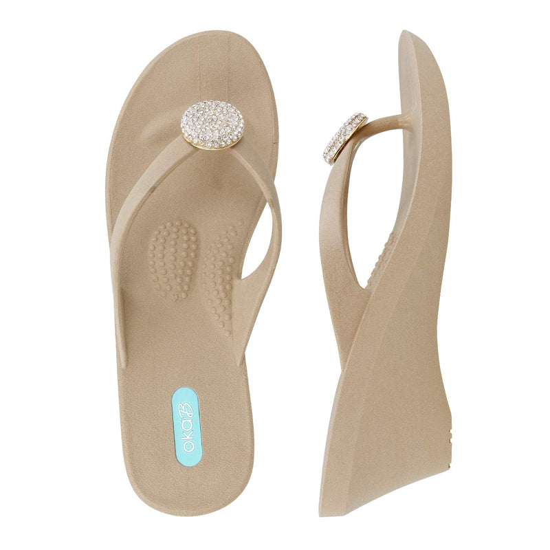 Joy Wedge Flip Flop