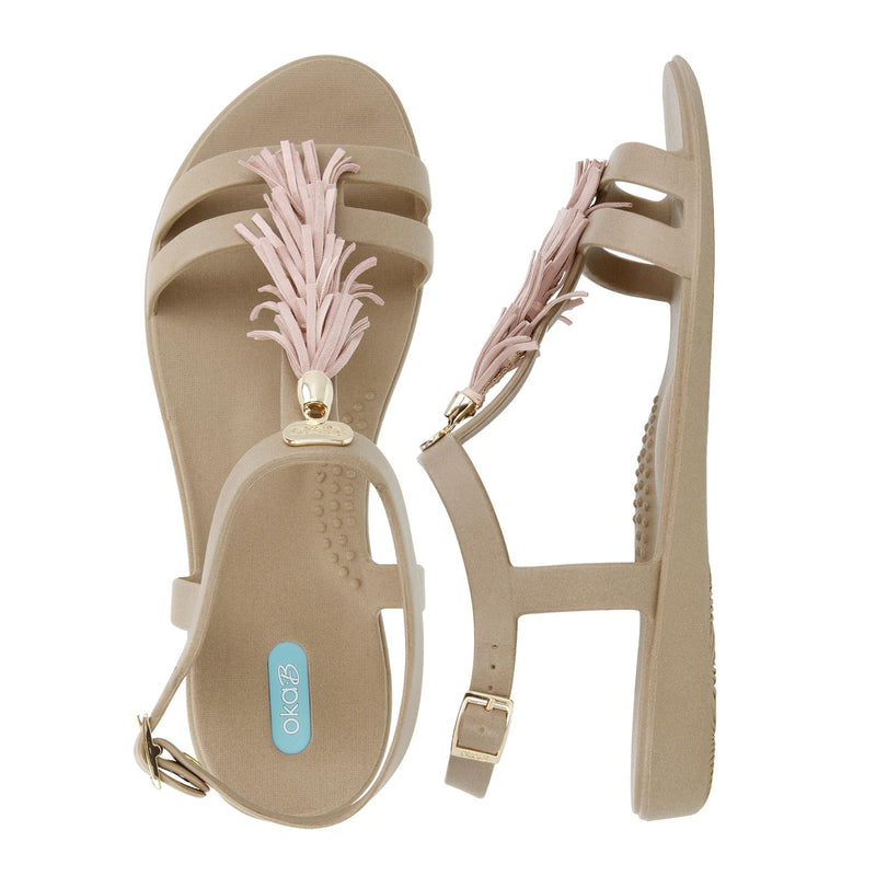 Shelly T-Strap Sandal