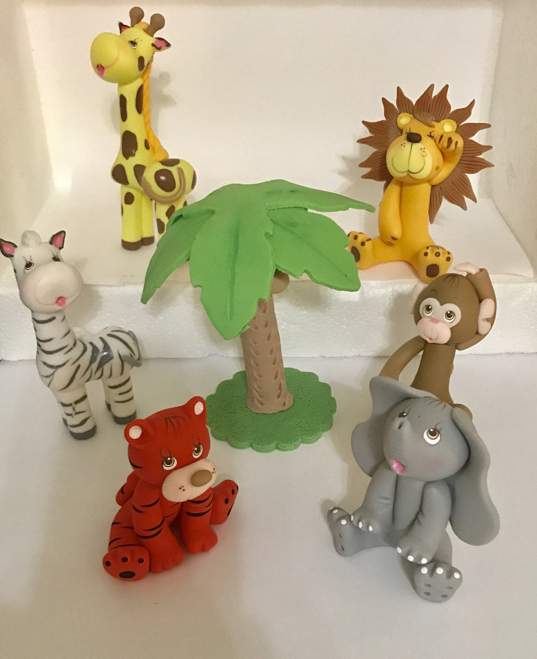 Jungle Animals Cake Topper