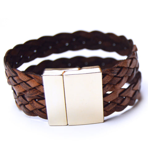 Suede & Braided Bracelet