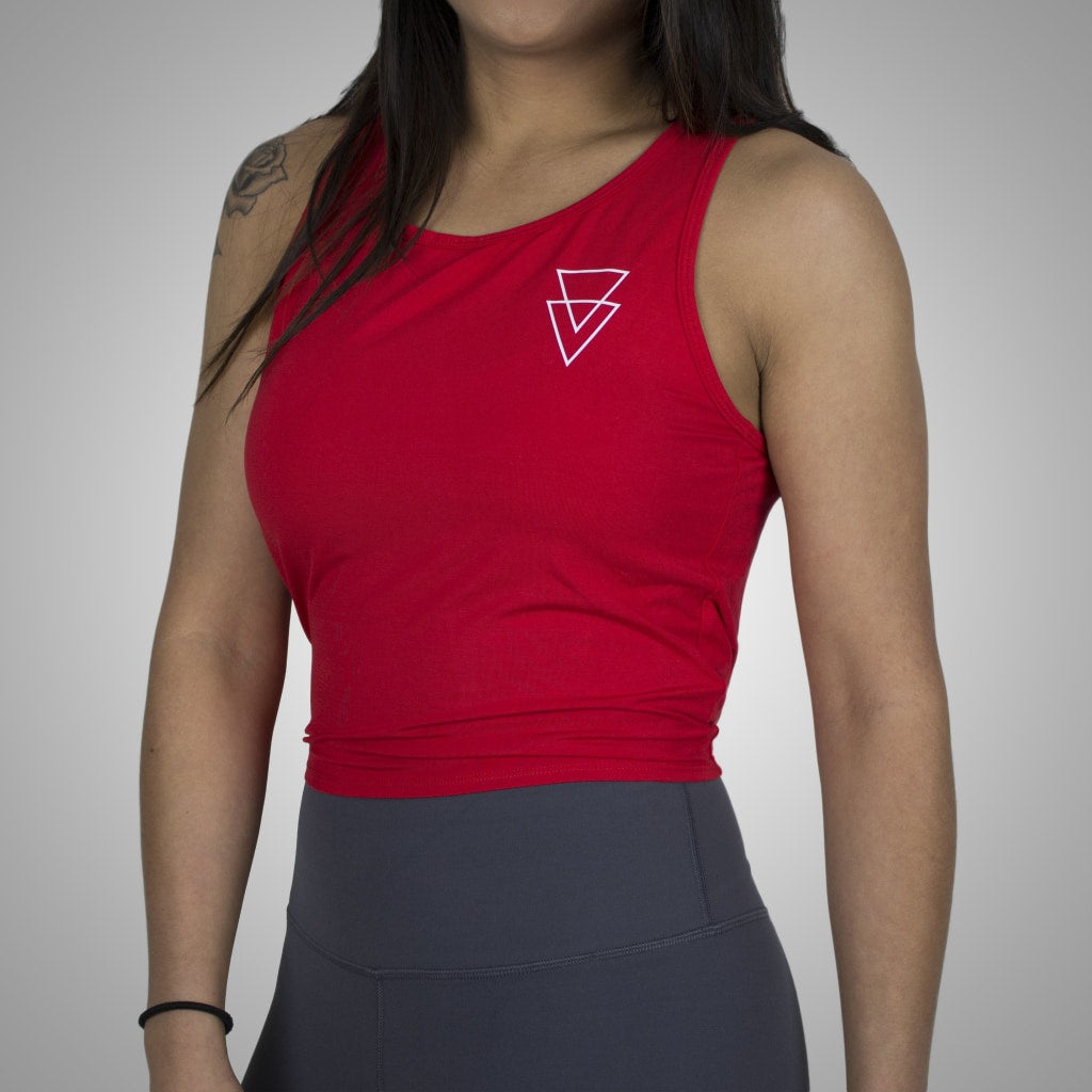 Tie Up Tank S / Red