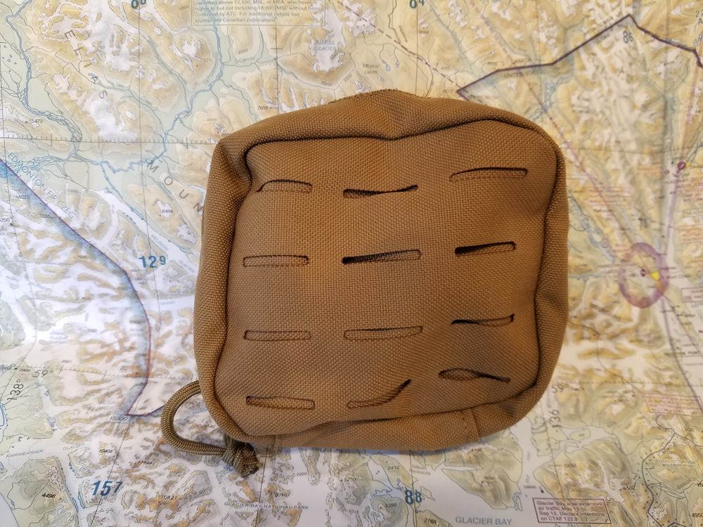 ARC power station nylon molle case in coyote