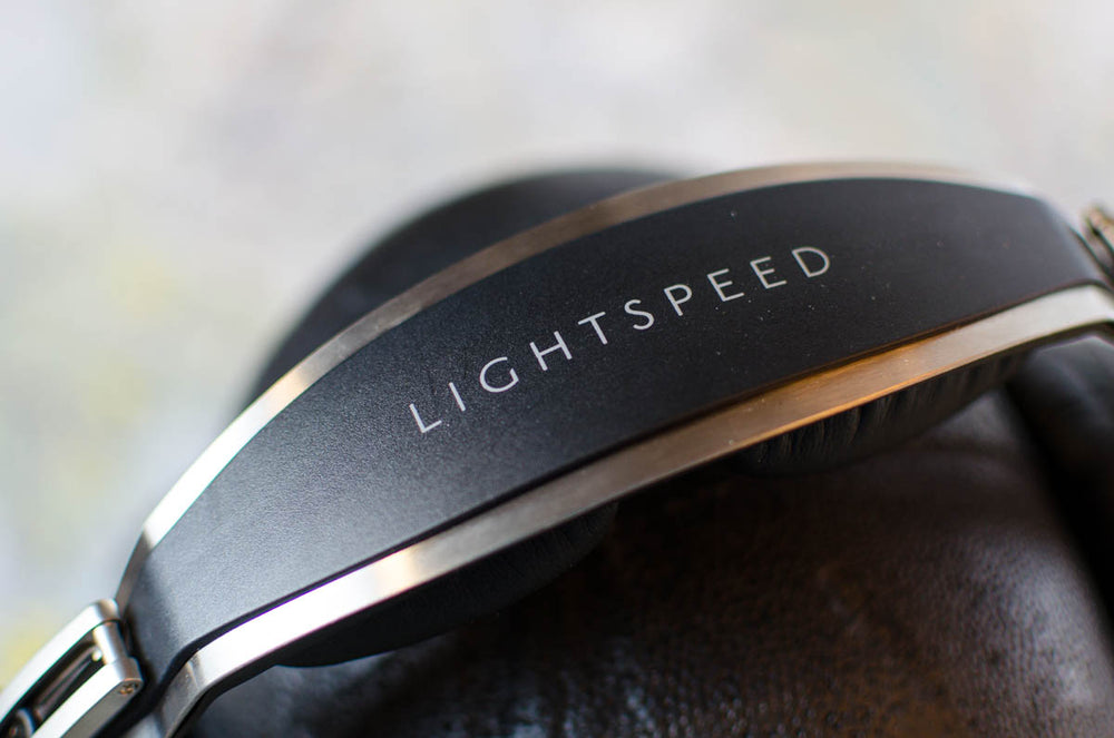 White NVIS filtered Gen II lip light for Lightspeed headset