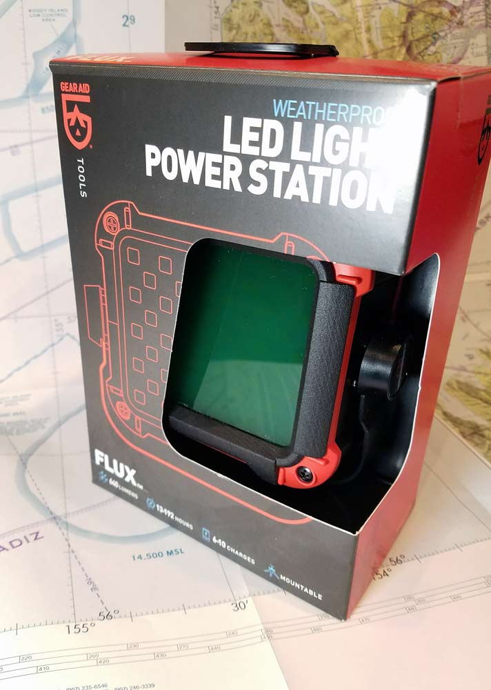 Gear Aid LED light and power station with FLITELite laser cut NVIS filter kit