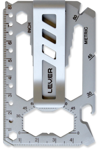 Lever Gear Toolcard Pro with Clip