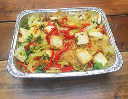Asian Tofu Glass Noodle and Vegetables
